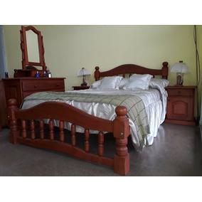 Juego De Dormitorio +2 Mesas De Luz+1 Comoda +espejo Alajero