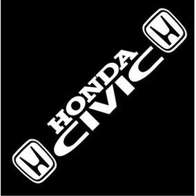 Calcomanía Vinil Sticker Logo Honda Civic