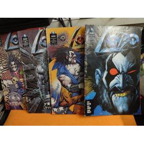 Coleção Lobo Do 1 Ao 4 Completo Hq Gibi Editora Globo