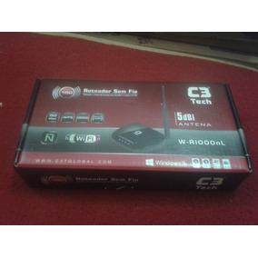 Roteador Sem Fio 150mbps C3 Tech W-r 100nl Original