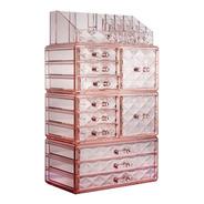 Organizador Maquillaje Accesorios 11 Cajones 4 Niveles