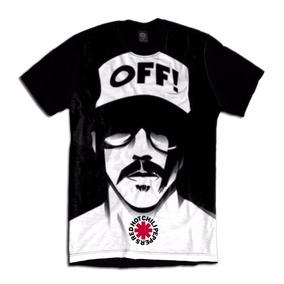 Camiseta Red Hot Chili Peppers Rock In Rio Anthony Kiedis