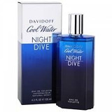 Perfume Cool Water Night Dive Davidoff Hombre 125 Ml