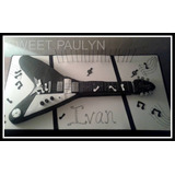 Sweet Paulyn Torta Guitarra Electrica