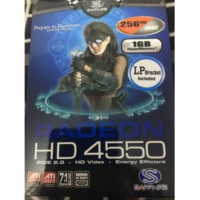 Placa De Vídeo 256mb Radeon Hd 4550 Pci-e C/hdmi