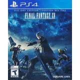 Final Fantasy Xv (day One Edition) - Ps4 - Físico - Sellado