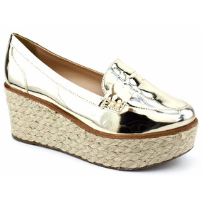 Sapato Salto Flatform Espadrille Di Vitrini 50702 Pixolé