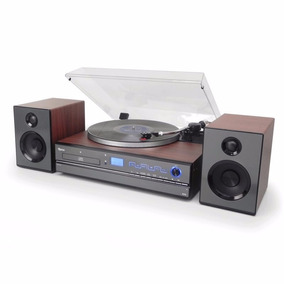 Toca-discos Aria Raveo Sistema Hi-fi Cd Player Usb Bluetooth