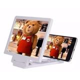 Lente Mini Projetor Amplia Imagem Celulares Samsung Iphone 6