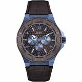 Reloj Guess Force W0674g5 Hombre Correa Cuero Nuevo
