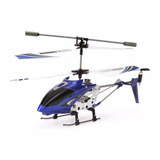 Syma S107g 3 Canales Rc Helicóptero Con Giroscopio Azul