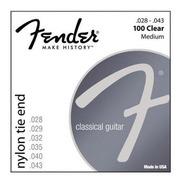 Encordado Guitarra Criolla Fender Spa 100 Clear