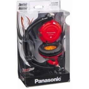 Fone Estereo Panasonic Djs400-vermelho-lindo-gravesprofundos