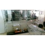 Prateleiras E Gôndolas De Vidro Expositor Com Espelho
