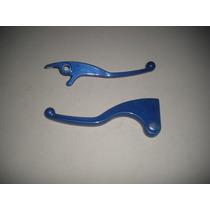 Manete Freio / Embreagem Azul Cg 125 / 150 Titan Disco - Par