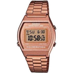Reloj Casio B640 Rosado Retro Vintage Alarma Luz Cronometro