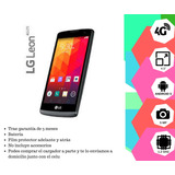 Lg Leon / Negro / 4g - Movistar- Como Nuevo-c/garantia
