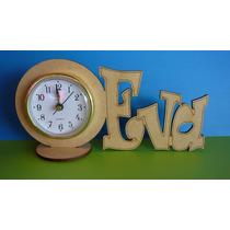 75 Souvenirs Reloj C Nomb Pers Para Pintar 15 Años