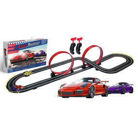 Pista Autos+ 2 Autos Scalextric 2,1 Metro Tipo Happy Buy