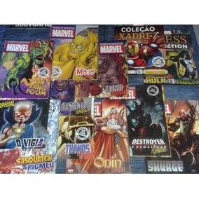 Revistas Marvel Coleção Miniaturas Eaglemoss