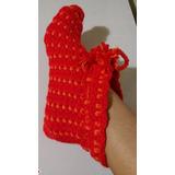 Escarpines De Lana Para Mujer Al Crochet