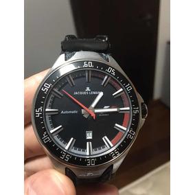 04c791f572b Relógio Jacques Lemans F1 Pulseira Fibra De Carbono - Relógios De ...