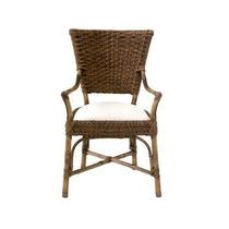 Cadeira Fibra De Bambu Para Varanda Churrasqueira Deck