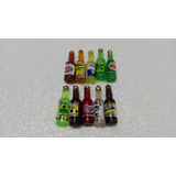 Botellitas De Cerveza Tequila Miniatura Maqueta (100 Pzas.)