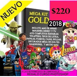 Kit Imprimible Empresarial 2018 Agenda ,calendario 2018