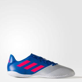 Chuteira Futsal Adidas Pro 11 Azul - Chuteiras Adidas para Adultos ... 9fe7aff09188a