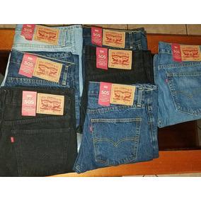 Lote 2 Pantalones Levis Original 501 505 510 511 514 Hombre
