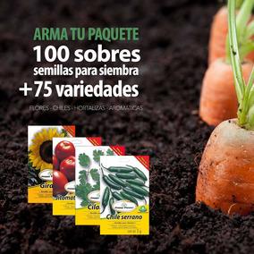 Semillas Para Siembra (paquete 100 Sobres) Flete Gratis