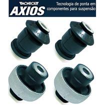 Kit 4 Buchas Bandeja Balança Fiat Stilo Bravo Original Axios