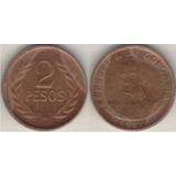 Moneda Colombia, 2 Pesos Año 1981