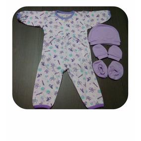 6 Conjunto Pijamas Para Bebes 5 Piezas 0-3 Meses Al Mayor