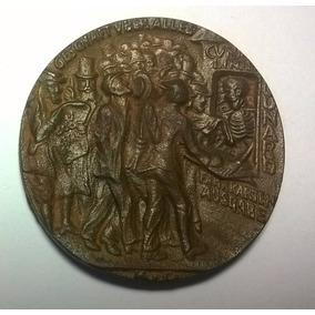 Medalha Naufrágio Do Navio Lusitania 1915 Karl Goetz Wwi