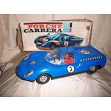 Antiguo Juguete Ind Arg Auto Rullero Porsche Carrera