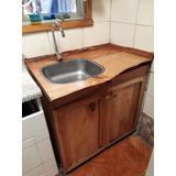 Mueble Lavaplatos Rustico