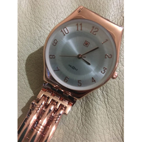 Reloj Muzzaz Dorado Rosado (fantasía)
