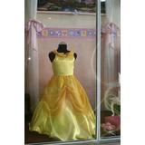 Vestido De Princesa Disney Bella Local En Lanus