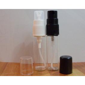 50 Frascos Vaporizador De Vidro 15 Ml Amostra De Perfume