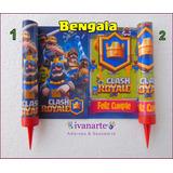 Bengala Clash Royale Para Torta / Floresta