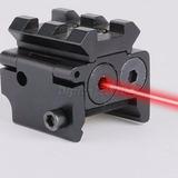 Mini Mira Laser P/pistola Paintball Trilho 20mm Frete Grátis