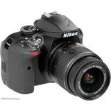 Cámara Nikon D3300 Réflex 24 Mp Hd Dr