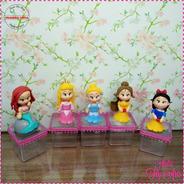 10 Lembrancinha Em Biscuit Princesas