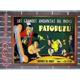 Andanzas De Patoruzu Número 1 Tapa-poster Enmarcado
