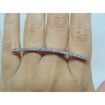 Glitter Joias Anel Para 3 Dedos Ouro E 70 Pontos De Diamante