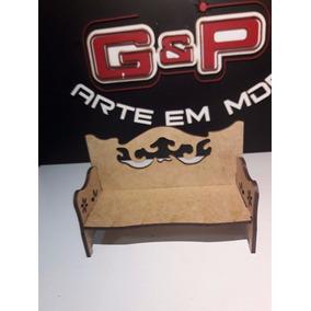 Miniatura Sofa G Colonial Retro Provençal Vazado