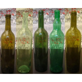 Envase Botella Vidrio Vino Vacias * Changoosx