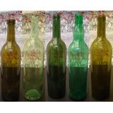 1 A 499 Botella Vino 750ml Vidrio Vacia * Changoosx